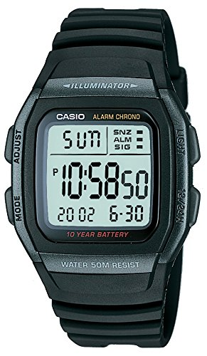 Casio General Men's Watches Digital W-96H-1BVDF - WW