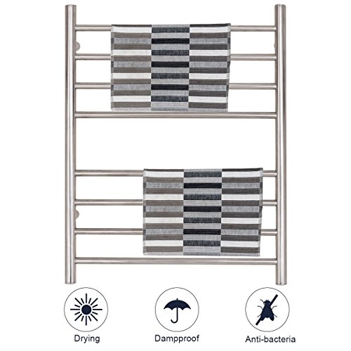 eXXtra Store Wall Mount Tower Warmer Drying Rack Stainless S
