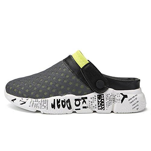 Zapatos Verde Respirable de DADAZE Zapatillas Sandalias Ultraligero Zuecos Verano Playa Hombres Malla vwaqSx1w