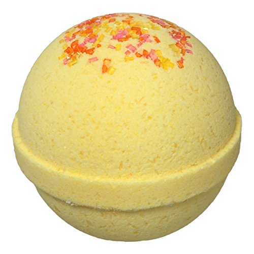Caribbean Crush BUBBLE Bath Bomb in Gift Box - Large Lush Spa Fizzy Kit, Gift Idea for Women, Moms, Teens, Girls - Homemade by Moms in the USA - Two Sisters Spa - Sunshine Box