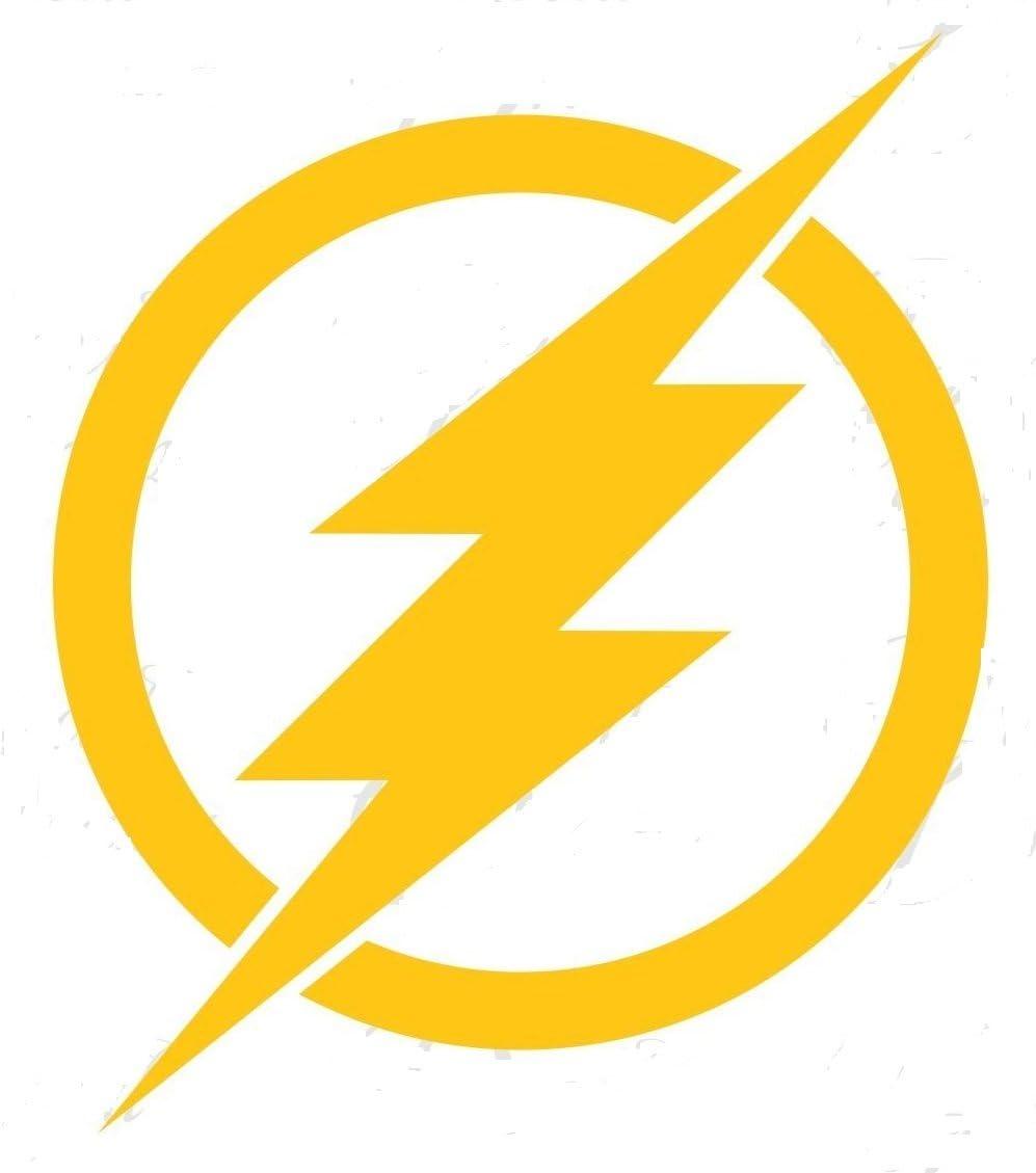 DC COMICS THE FLASH BARRY ALLEN LOGO STICKERS SYMBOL 5.5