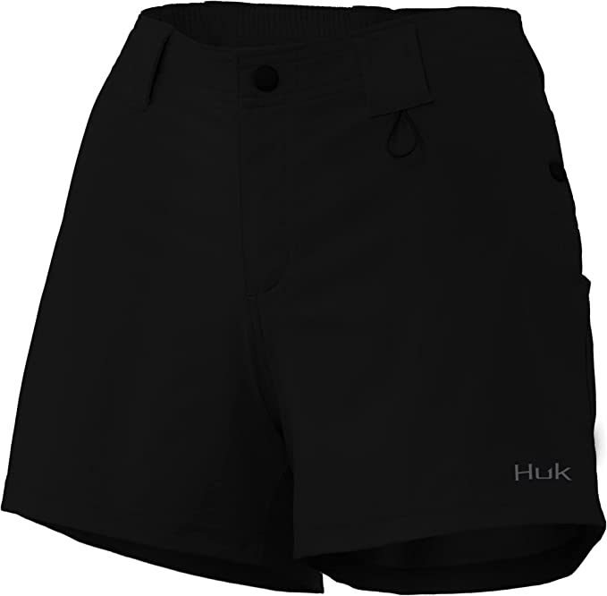 30 UPF Sun Protection HUK Womens Chillin Deck Short Performance Quick-Drying Short with