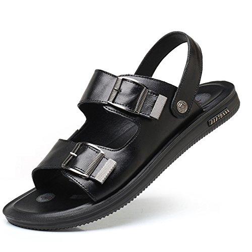 Scarpe da da Uomo Uomo Moda da Estate Toe Pantofole Scarpe Black Open Sandali Spiaggia qZgxd5aq