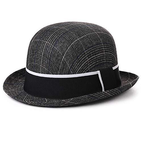 Mens Homburg Gangster Hat Fedora 1920s Derby Bowler Hat Frank Sinatra Manhattan Mafia Godfather Women Winter Accessories 99756 -