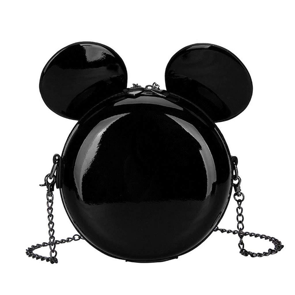 Black Shoulder Bag, VIccoo Women Cute Handbag Shoulder Bags Tote Purse Messenger Hobo Satchel Bag Crossbody Black