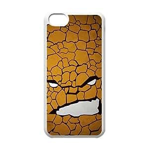 iPhone 5c Cell Phone Case White Superhero Captain America, Spider Man, Iron Man, Wolverine, ant man, Green Arrow, Batman, Joker Logo 13 OJ569503