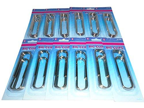 4 inch paper clips - 9