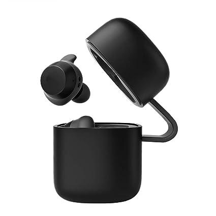 Auriculares inalámbricos mini binaurales inalámbricos ultra pequeños deportes invisibles en los auriculares de los auriculares universales