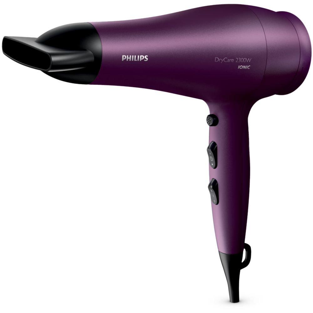 Philips DryCare BHD282 2300W Púrpura - Secador de pelo (50/60 Hz): Amazon.es: Hogar