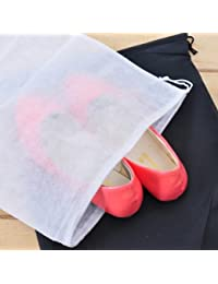 6 Pieces Travel Breathable Shoes Cover Package (Black)