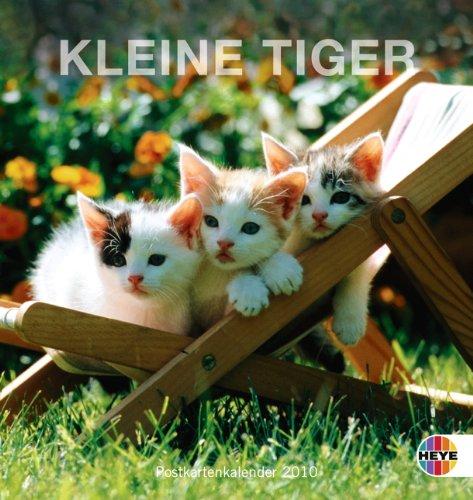 Kleine Tiger 2010. Postkartenkalender
