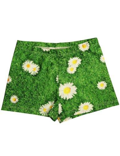 Big Girls' Bejeweled Athletic Shorts