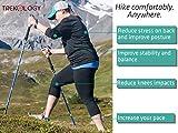 Trekology TREK-Z Collapsible Tri-fold Trekking Hiking Poles