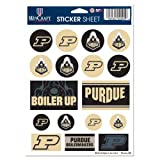 NCAA Purdue University Vinyl Sticker Sheet, 5'' x 7''