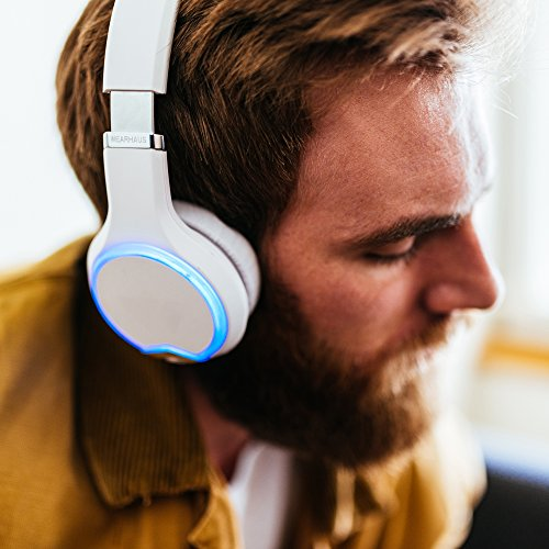 Wearhaus Arc On-Ear Bluetooth Headphones with Wireless Music Sharing, Customizable Color Ring, Touch Controls, Spotify Apple Music Integrated iPhone Android App - Black by Wearhaus (Image #8)