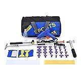 HOTPDR Dent Puller Tool Paintless Dent Repair Tools Glue Puller Pdr Tools for Car Dent Repair (57 Pcs)