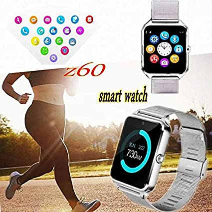 Amazon.com: FAIYIWO Z60 Watch Smart Watch Casual Android ...