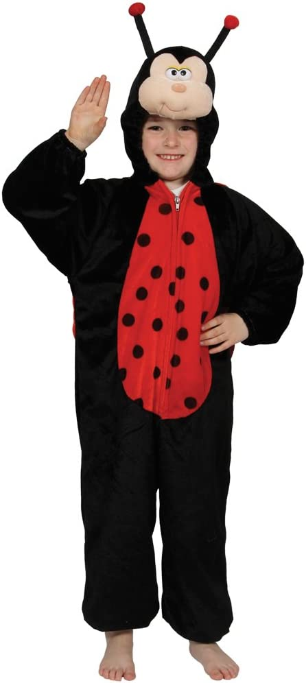 Childrens Fancy Dress Up Halloween Costume Ladybug S (disfraz ...