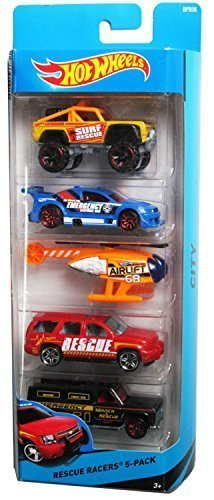 - Hot Wheels, 2015 Rescue Racers 5-Pack