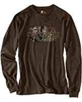 Carhartt Men's 101771 Workwear Graphic Camo 1889 Long Sleeve T-Shirt