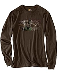 Mens Workwear Graphic Camo 1889 Long Sleeve Tee