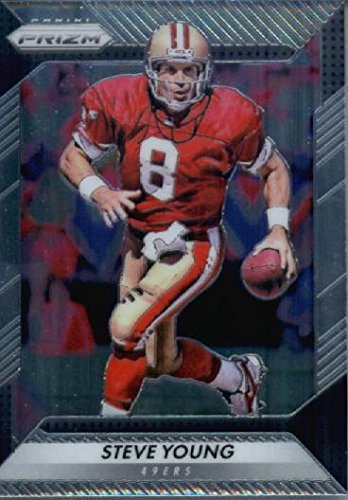 105 Rookie Football Card - 2016 Panini Prizm #105 Steve Young San Francisco 49ers Football Card