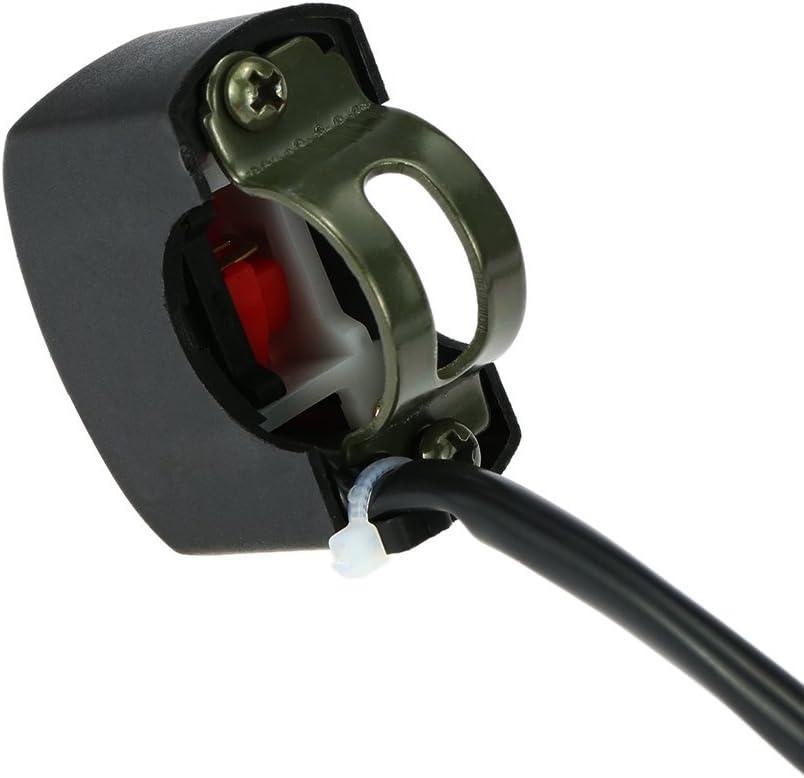 para manillar de bicicleta bot/ón ON Off KKmoon Interruptor universal para motocicleta ATV 12 V CC