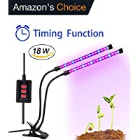 Aitere 18W Timer Grow Lights for Indoor Plants/Grow Lamps