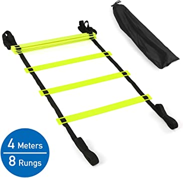 4M Speed Agility Ladder Exercise Sport Football Soccer Training Ladder