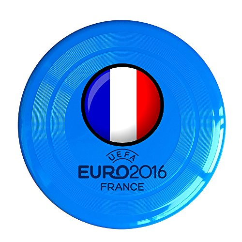 (VOLTE France Flag EURO RoyalBlue Flying-discs 150 Grams Outdoor Activities Frisbee Star Concert Dog Pet Toys)