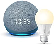 All-new Echo Dot (4th Gen)   Smart speaker with clock and Alexa