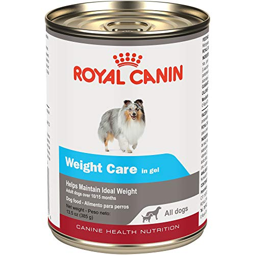 Royal Canin Health Nutrition Weight Care In Gel Canned Dog Food (Case Of 12/1), 13.5 Oz