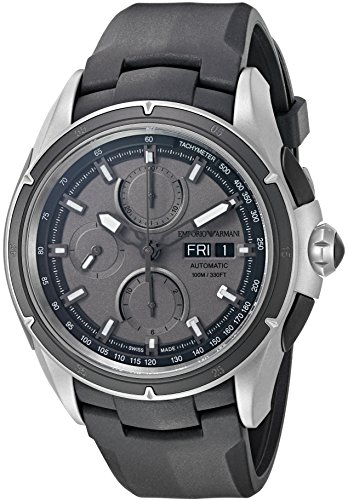 Emporio-Armani-Swiss-Made-Mens-Titanium-and-Rubber-Automatic-Watch-ColorBlack-Model-ARS9202