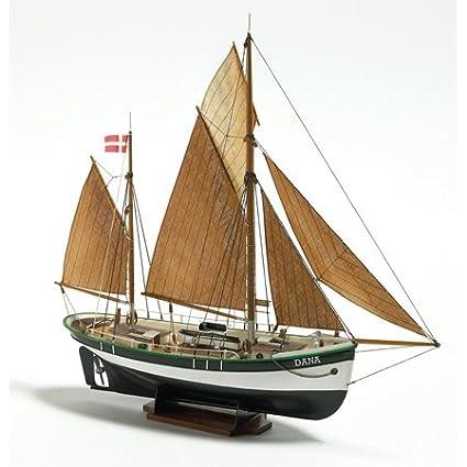 Billing Boats 1:60 Scale Dana Fishing Boat Model Building Kit