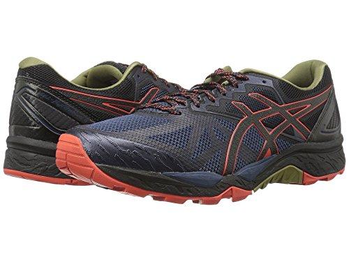 [asics(アシックス)] メンズランニングシューズ?スニーカー?靴 GEL-Fujitrabuco 6 Insignia Blue/Black/Red Clay 7 (25.25cm) D - Medium