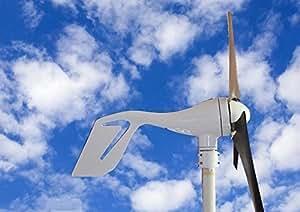Aerogenerador ECO-WORTHY de 400W. Generador a energía eólica. 12V / 24V. Este generador es ideal para cargar baterías de 12V 24V