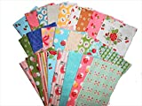 25 Beautiful Riley Blake Sew Cherry Fat Quarters
