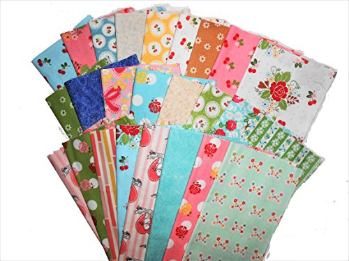 25 Beautiful Riley Blake Sew Cherry Fat Quarters by Sew Cherry 2