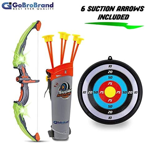 GoBroBrand Green Archery Suction Arrows product image