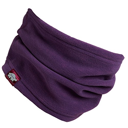 Turtle Fur Midweight Polartec Thermal Pro Stria Fleece Neck Warmer, Planet Of The Grapes