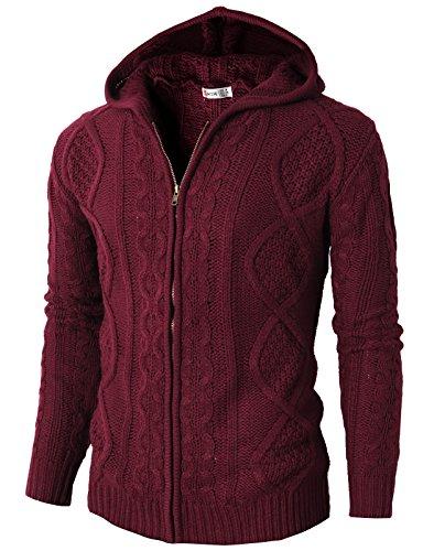 H2H Premium Knitted Pattern Cardigan
