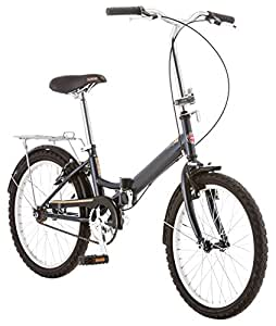 Schwinn 14 Hinge Folding Bike, 20-Inch/Medium, Grey
