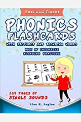 Phonics Flashcards with Pictures and Blending Words Paperback