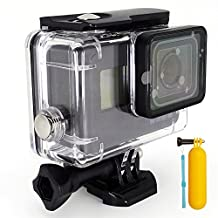 First2savvv 30M Waterproof Housing Diving Swimming Protective case cover for GoPro Hero 5 Black + diving stick
