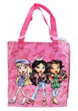 Lil Bratz Dressed Up Magenta Colored Kids Small Vinyl Tote Bag