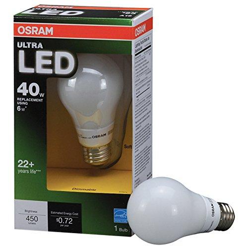 SYLVANIA OSRAM Equivalent A19 LED