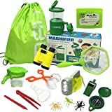 JOLLY SWEETS Outdoor Exploration Kit 16 Pcs Set, Kids-Nature Adventure Toys Bug Kit, Backpack,...