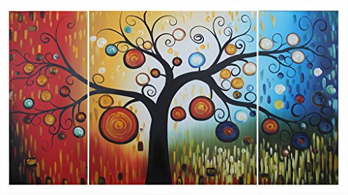 ode-rin-100-hand-painted-oil-painting-on-canvas-fantasy-colorful-dots-tree-framed-and-stretched-3-pi