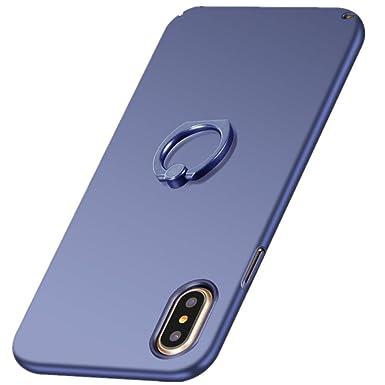 coque iphone xs max avec anneau