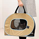 Necoichi Portable Ultra Light Cat Carrier With Zipper Lock